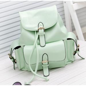 Unique College Style Nice Mint Gree..