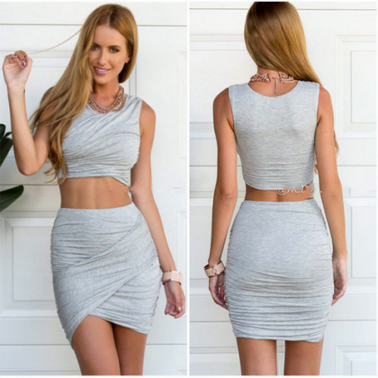 Sleeveless Dress, Club Bandage Dres..