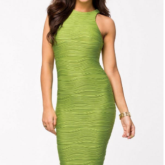 Fashionwear Sleeveless Bodycon Part..