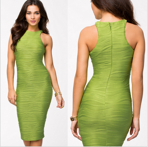 Fashionwear Sleeveless Bodycon Party Dress