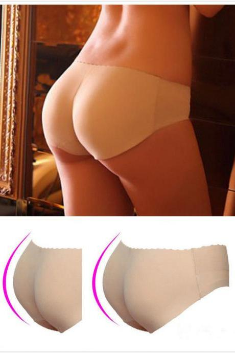 Padded Seamless Butt Hip Enhancer Shaper Panties Underwear
