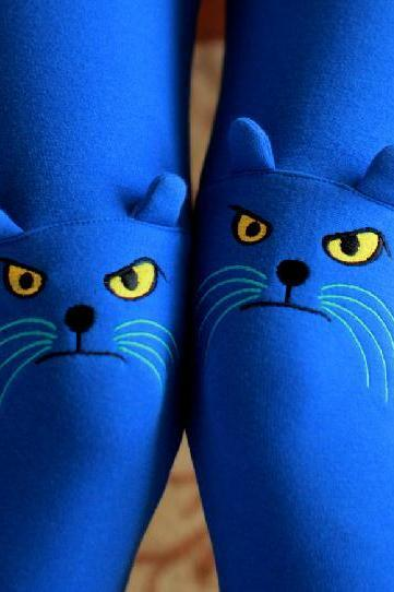 Nice Cat Leggings For Fall And Winter