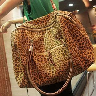 Latest Retro Leopard Print Handbag