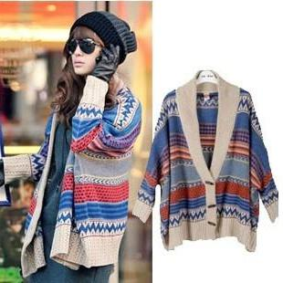 Bat Sleeve Sweater Shawl A 091112 -789